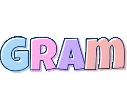 Gram pastel logo