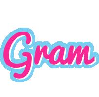Gram popstar logo