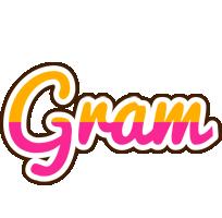 Gram smoothie logo