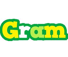 Gram soccer logo