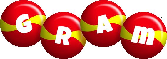 Gram spain logo