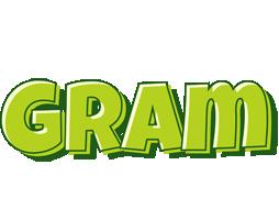 Gram summer logo