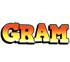 Gram sunset logo