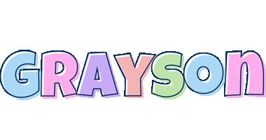 GRAYSON Name Poster featuring photos of actual sign ...  |Grayson Name
