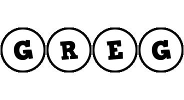 Greg handy logo