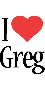 Greg i-love logo