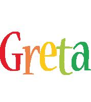 Greta birthday logo