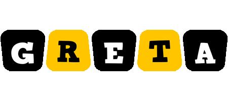 Greta boots logo