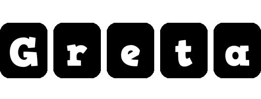 Greta box logo