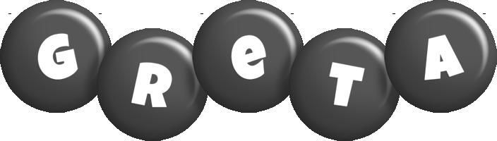 Greta candy-black logo