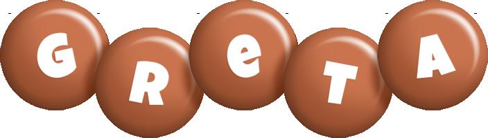 Greta candy-brown logo