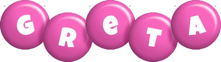 Greta candy-pink logo