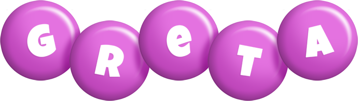 Greta candy-purple logo