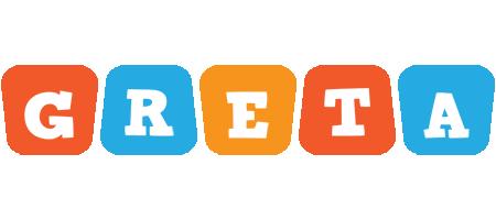 Greta comics logo