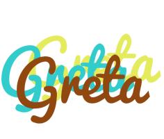 Greta cupcake logo