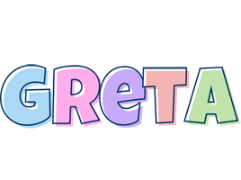 Greta pastel logo
