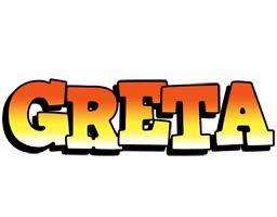 Greta sunset logo