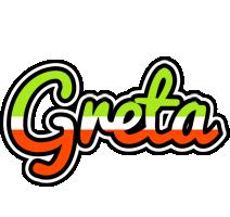 Greta superfun logo