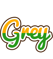 Grey banana logo