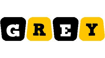 Grey boots logo
