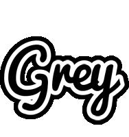 Grey chess logo