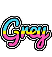 Grey circus logo