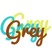 Grey cupcake logo