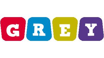 Grey daycare logo