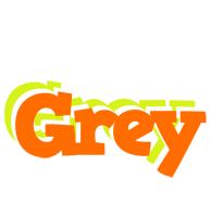 Grey healthy logo