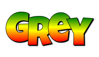 Grey mango logo