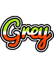 Grey superfun logo
