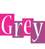 Grey whine logo