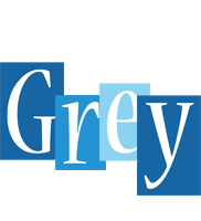 Grey winter logo