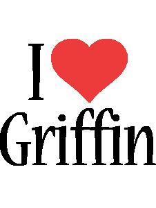 Griffin i-love logo