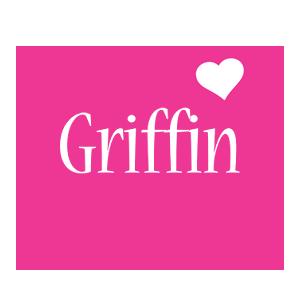 Griffin love-heart logo