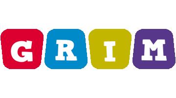 Grim kiddo logo