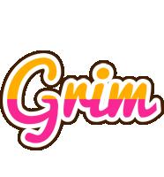 Grim smoothie logo