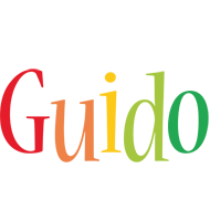 Guido birthday logo