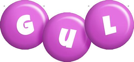 Gul candy-purple logo