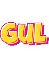 Gul kaboom logo