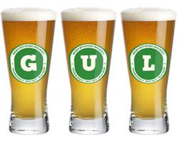 Gul lager logo
