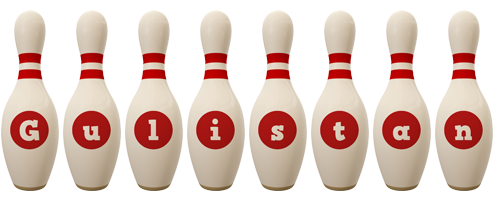 Gulistan bowling-pin logo