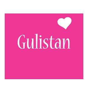 Gulistan love-heart logo