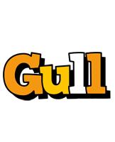 Gull cartoon logo