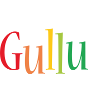 Gullu birthday logo
