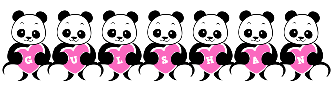 Gulshan love-panda logo