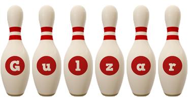 Gulzar bowling-pin logo