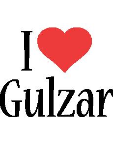 Gulzar i-love logo