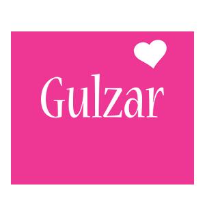Gulzar love-heart logo