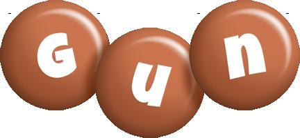 Gun candy-brown logo